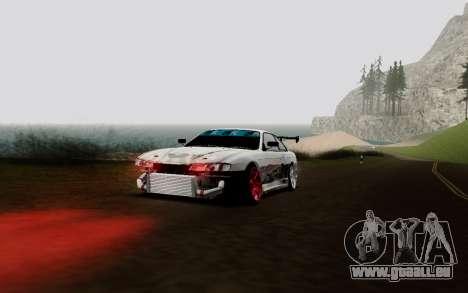 Nissan Silvia S14 VCDT V2.0 pour GTA San Andreas vue intérieure