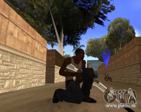 Clear weapon pack für GTA San Andreas her Screenshot