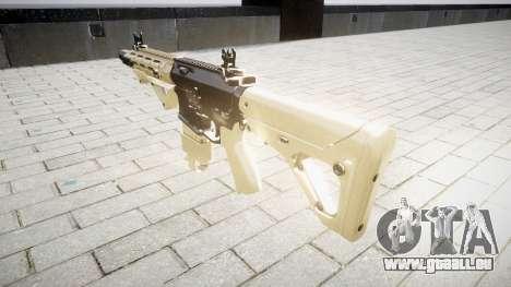 Fusil AR-15 CQB pour GTA 4 secondes d'écran