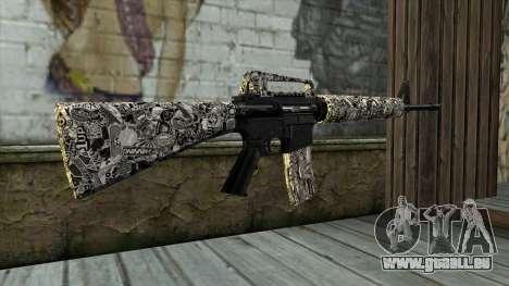 Nouveau Fusil D'Assaut pour GTA San Andreas deuxième écran