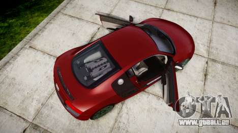 Audi R8 V10 Plus 2014 pour GTA 4 est un droit