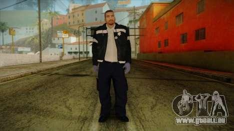 GTA 4 Emergency Ped 12 pour GTA San Andreas