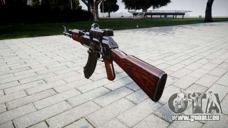 Die AK-47 Kollimator Ziel für GTA 4 Sekunden Bildschirm
