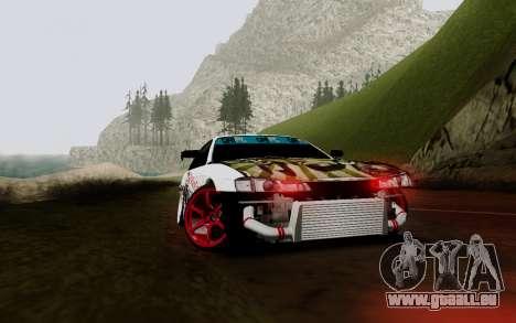 Nissan Silvia S14 VCDT V2.0 pour GTA San Andreas vue de côté
