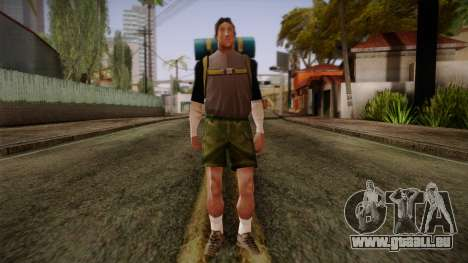GTA San Andreas Beta Skin 18 für GTA San Andreas