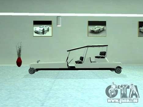 Limgolf pour GTA San Andreas vue de droite