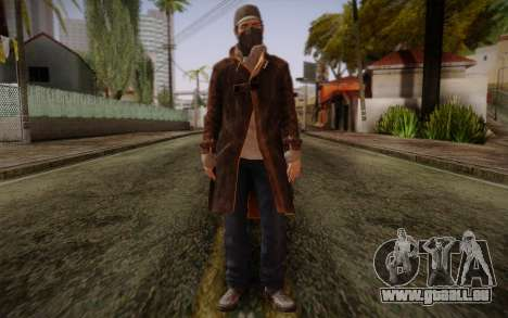 Aiden Pearce from Watch Dogs v5 pour GTA San Andreas