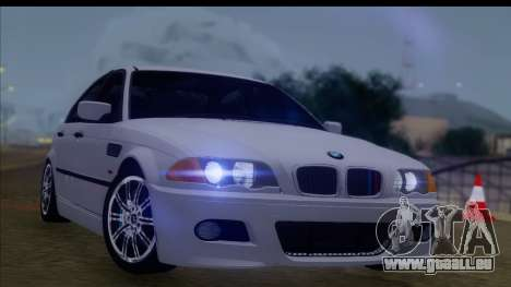BMW M3 E46 Sedan pour GTA San Andreas