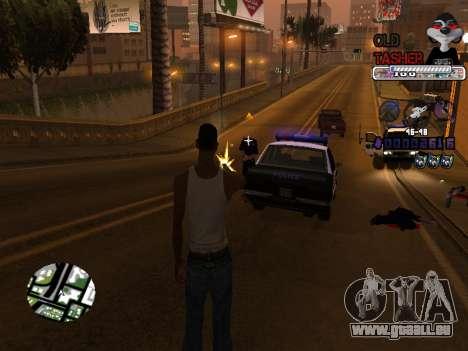 C-HUD Cesar Weezy für GTA San Andreas fünften Screenshot