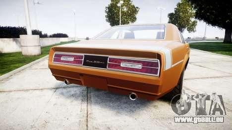 Declasse Tampa 1976 v2.0 pour GTA 4 Vue arrière de la gauche