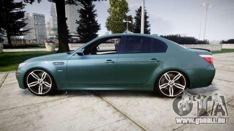 BMW M5 E60 v2.0 Stock rims pour GTA 4 est une gauche