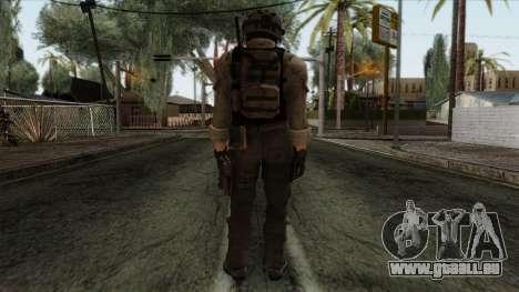 Modern Warfare 2 Skin 15 pour GTA San Andreas deuxième écran