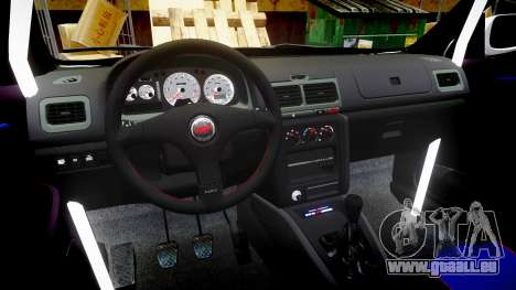 Subaru Impreza WRC 1998 v4.0 SA Competio für GTA 4 Rückansicht