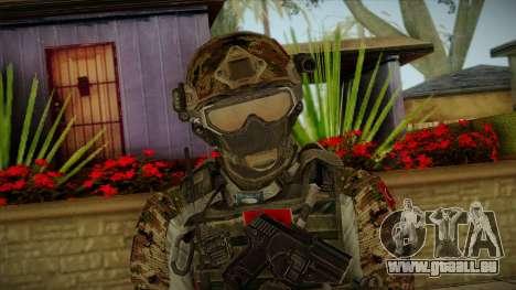 Army Skin 2 für GTA San Andreas dritten Screenshot