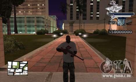 C-HUD Shark für GTA San Andreas zweiten Screenshot