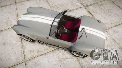 AC Cobra 427 PJ1 für GTA 4 rechte Ansicht