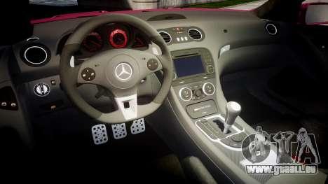 Mersedes-Benz SL65 AMG 2009 für GTA 4 Innenansicht