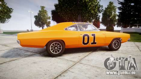 Dodge Charger RT 1969 General Lee für GTA 4 linke Ansicht