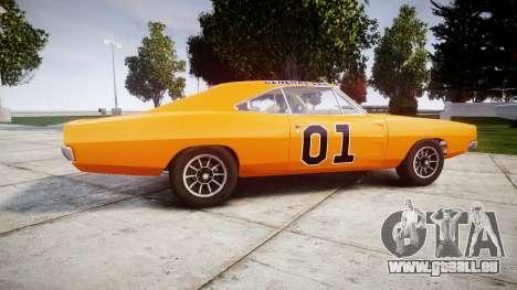 Dodge Charger RT 1969 General Lee für GTA 4 linke Ansicht
