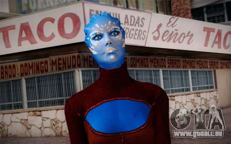 Asari Dancer from Mass Effect für GTA San Andreas dritten Screenshot