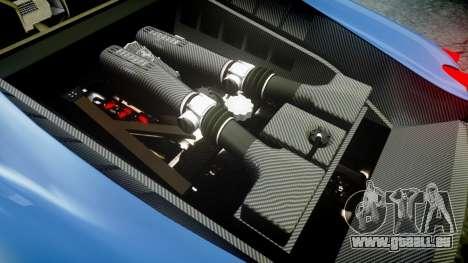 Ferrari F430 Scuderia 2007 plate Scuderia pour GTA 4 est un côté