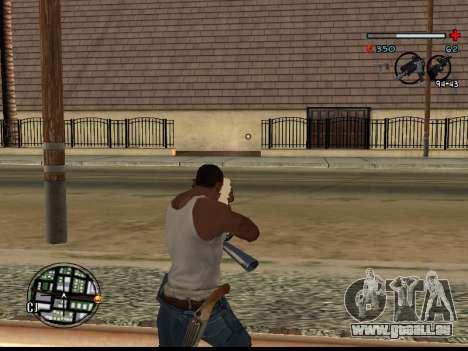 C-HUD Good pour GTA San Andreas troisième écran