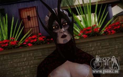 Benezia Beta Final from Mass Effect für GTA San Andreas dritten Screenshot