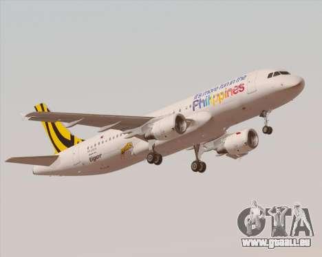 Airbus A320-200 Tigerair Philippines für GTA San Andreas Innen