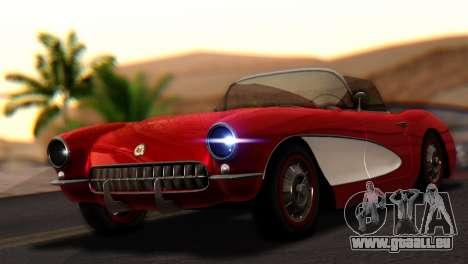 Chevrolet Corvette C1 1962 pour GTA San Andreas