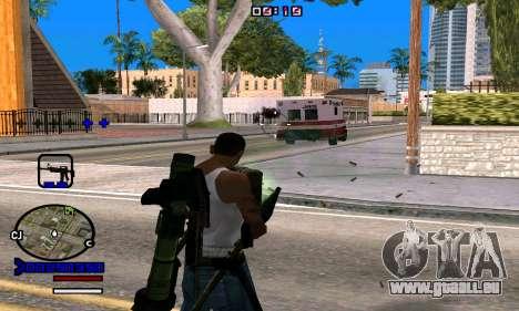 C-HUD Normal pour GTA San Andreas quatrième écran
