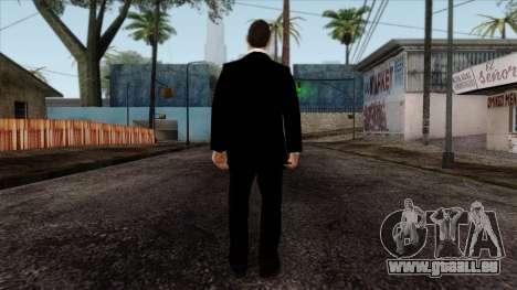 LCN Skin 3 pour GTA San Andreas deuxième écran