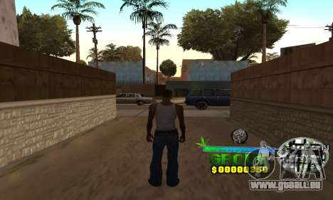 C-HUD Groove Street pour GTA San Andreas quatrième écran