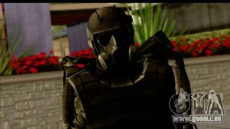 Stalkers Exoskeleton pour GTA San Andreas troisième écran