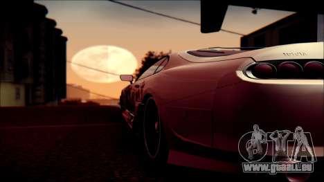 Toyota Supra Street Edition pour GTA San Andreas vue de côté