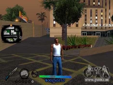 C-HUD COOL pour GTA San Andreas troisième écran