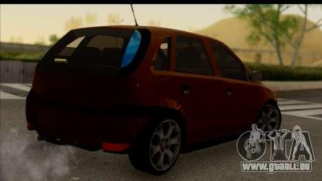 Opel Corsa C Sport pour GTA San Andreas laissé vue