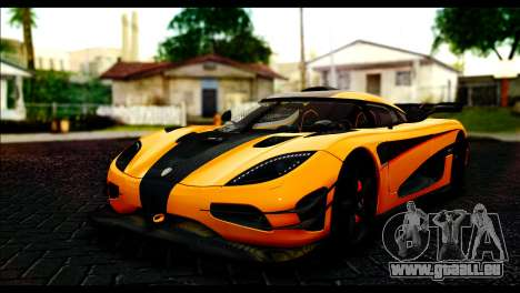 Koenigsegg One:1 v2 pour GTA San Andreas