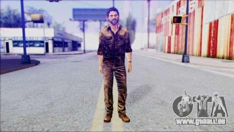 Joel from The Last Of Us für GTA San Andreas