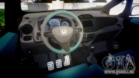 Honda Fit 2006 Sharpie pour GTA 4 est une vue de l'intérieur