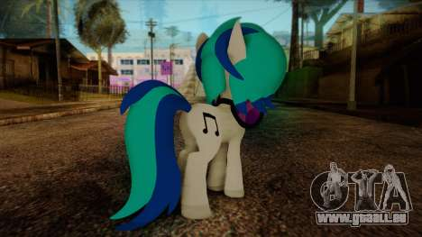 Vinyl Scratch from My Little Pony für GTA San Andreas zweiten Screenshot