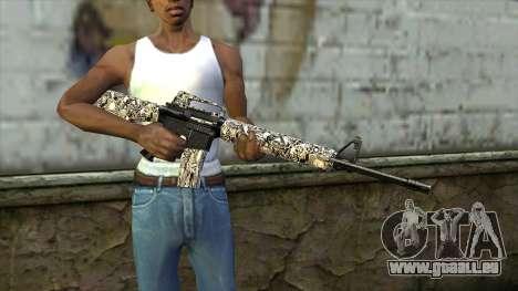Nouveau Fusil D'Assaut pour GTA San Andreas troisième écran