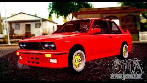 BMW M3 E30 Stock pour GTA San Andreas