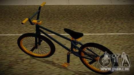 BMX Life edition pour GTA San Andreas sur la vue arrière gauche