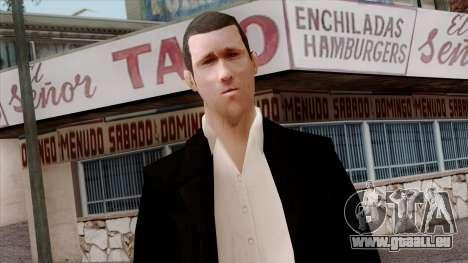 LCN Skin 3 pour GTA San Andreas troisième écran