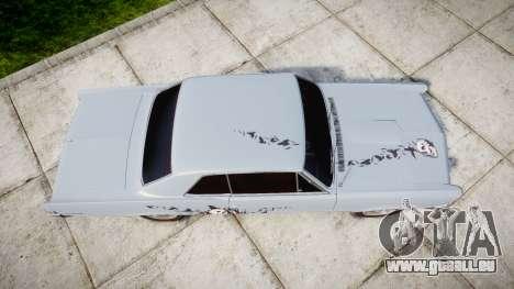 Pontiac GTO 1965 skull pour GTA 4 est un droit