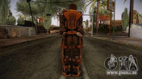 Freedom Exoskeleton pour GTA San Andreas deuxième écran