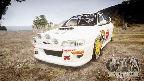 Subaru Impreza WRC 1998 v4.0 SA Competio für GTA 4