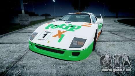 Ferrari F40 1987 [EPM] Jolly Club für GTA 4