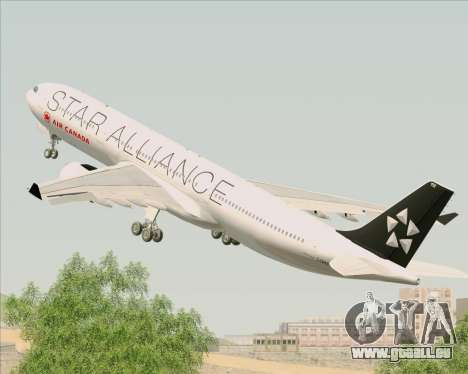 Airbus A330-300 Air Canada Star Alliance Livery pour GTA San Andreas