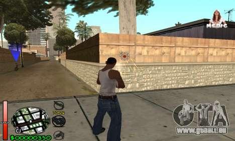 С-HUD Medic pour GTA San Andreas deuxième écran